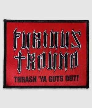 furious trauma-ft logo-patch
